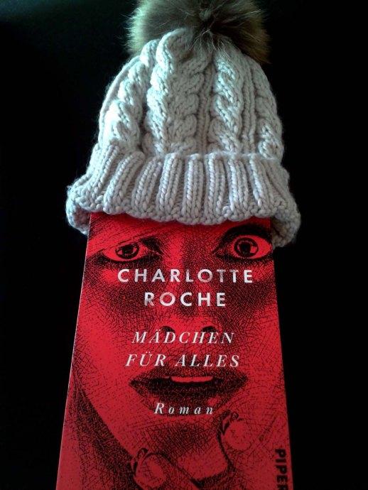 Charlotte Roche-Mädchen für alles