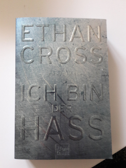 Ethan Cross-Ich bin der Hass